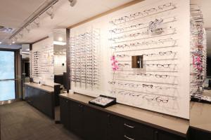 Optometrists on Colborne downstairs dispensary
