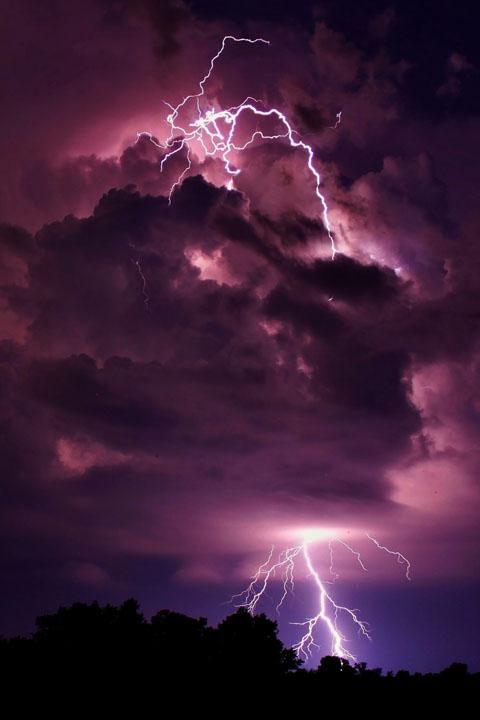 Dr. Istifan's purple lightning